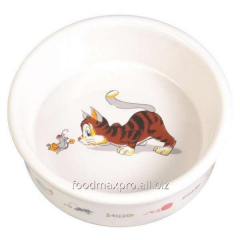 Bowl for cats of Trixie ceramic 0,2l*11,5sm piece