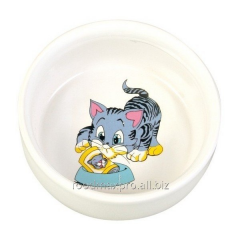 Bowl for cats of Trixie ceramic 0,3l*11sm piece