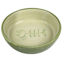 Bowl for cats of Trixie the Small fish of 0,2l