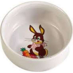 Bowl for a rabbit of Trixie ceramic 0,3l piece