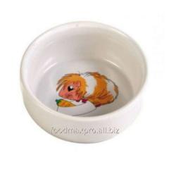 Bowl for a guinea pig of Trixie ceramic 0,3l piece
