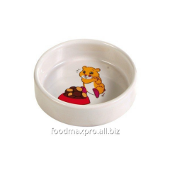 Bowl for a hamster of Trixie ceramic 0,1l piece