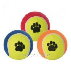 Ball tennis Trixie of 6,4 cm 3475 pieces