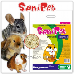 Filler for rodents of Sani Pet natural 2,5kg