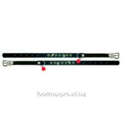 Collar 22-30 black No. 1 for cats of 33836 Topsi