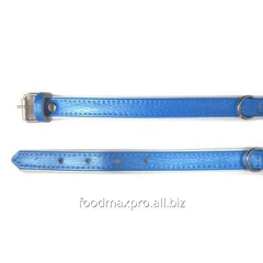Collar for dogs of Topsi Blue / the edging of