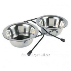 Support and two Trixie bowls on 0,2l piece