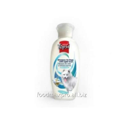 Shampoo for light-wool dogs of Topsi 200 of ml