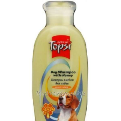 Shampoo for dogs of Topsi with ml honey 200