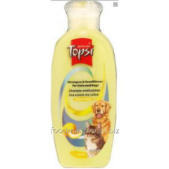 Topsi shampoo conditioner for cats and dogs of 200