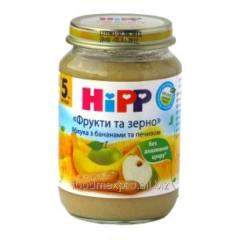 Hipp porridge Fruit and grain apples about banana