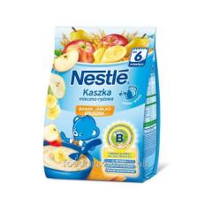 Nestle porridge rice banana-yabl. - a pear of