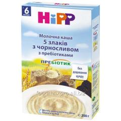 Porridge of 5 cereals Hipp moloch prunes with