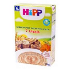 Porridge of 7 cereals Hipp of nonmilk organic 200