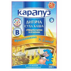 Porridge 8 of cereals Peanut Multizlak bifidobakt