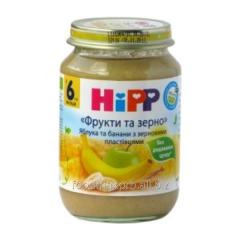 Hipp porridge Fruit and grain with apples bananas