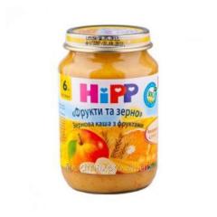 Hipp porridge Fruit and grain fruit allsorts