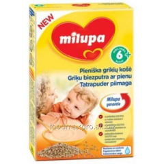 Buckwheat cereal Milupa of dairy 230 g
