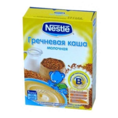 Buckwheat cereal Nestle of dairy 250 g