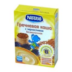 Buckwheat cereal Nestle with prunes 200 of