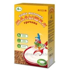 Buckwheat cereal Kid Malyshka of dairy 250 g
