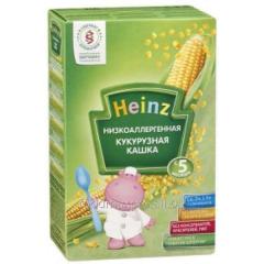 Porridge corn Heinz of low allergy 200 g