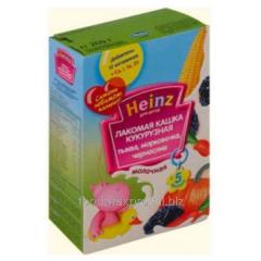 Porridge corn Heinz pumpkin-carrot-prunes 200 of