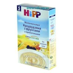 Porridge corn Hipp dairy with fruit with prebiot