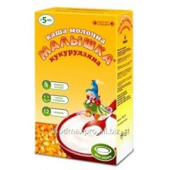 Porridge corn Kid Malyshka of dairy 250 g