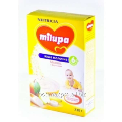 Milupa cream of wheat dairy with fruit 230 of