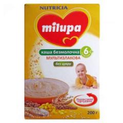 Porridge multicereal Milupa bezmol. dry fast-races