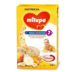Porridge multicereal Milupa dairy with fruit 230