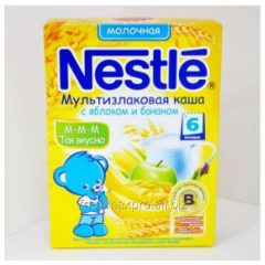 Porridge multicereal Nestle dairy about apple