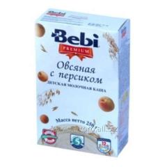 Bebi Premium porridge dairy peach of 250 g
