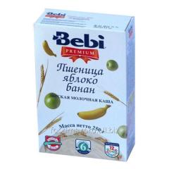 Porridge wheaten Bebi Premium apple banana 250 of