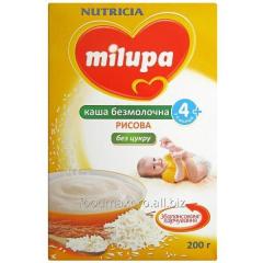 Rice porridge Milupa nonmilk dry bystrorastvo. 200