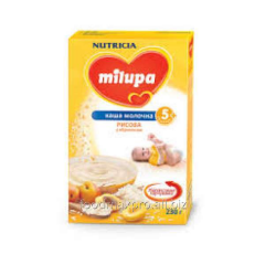 Rice porridge Milupa dairy with an apricot of 230