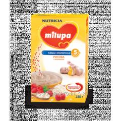 Rice porridge Milupa dairy with raspberry 230 of