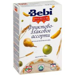 Porridge fruit and cereal Bebi Premium of dairy