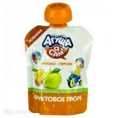 Agush's mashed potatoes apple-peach 90 g