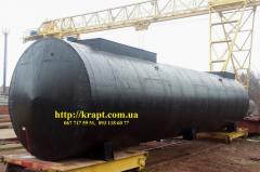 Резервуар для нефтепродуктов 50 м.куб (30+20)