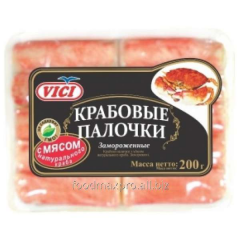 The Vici crabsticks with meat of natural crab 200g