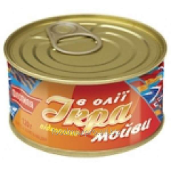 Capelin Flotil_ya's caviar pokopcheny can of