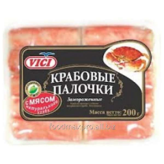 The Vici crabsticks with meat of natural crab 250g
