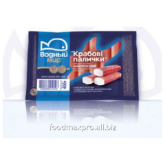 Crabsticks the Water world the cooled 400 g