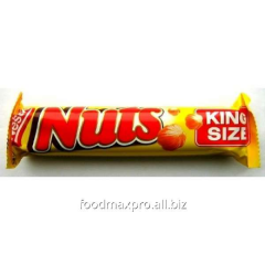 Bar of Nestle Nuts King size of chocolate 65 g