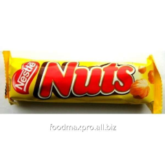 Bar of Nestle Nuts of chocolate 47 g