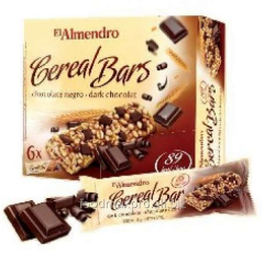 El Almendro bars cereal with chocolate 125 of