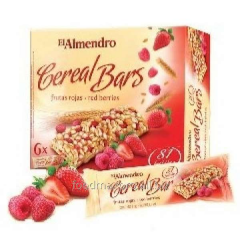 El Almendro bars cereal with berries 125 of