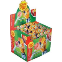 Chupa Chups caramel fruit allsorts of 12 g